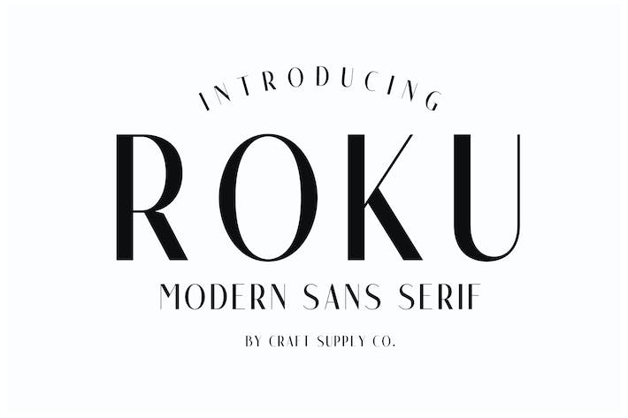 Cover Image For Roku - Modern Sans Serif