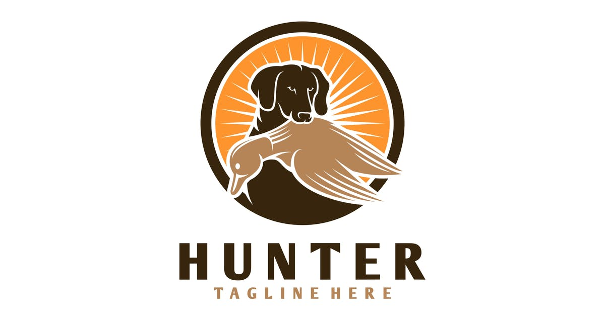 Download 0R Dog Hunter Logo by Voltury