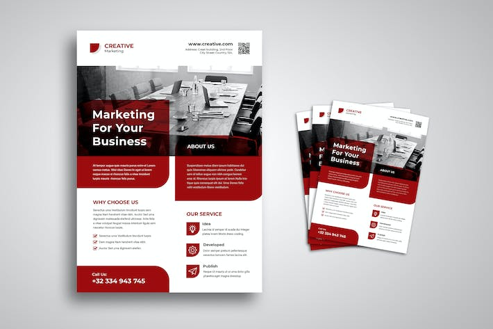 Thumbnail for Marketing Business Flyer