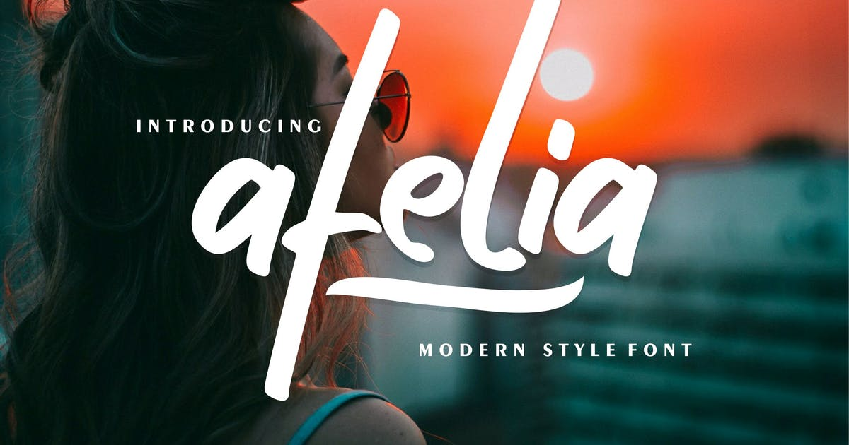Download Afelia | Modern Style Font by Vunira