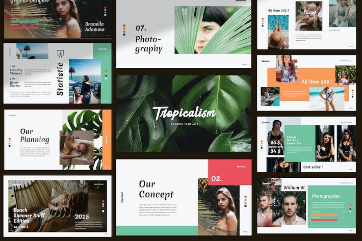 Тропикализм Творческий Keynote