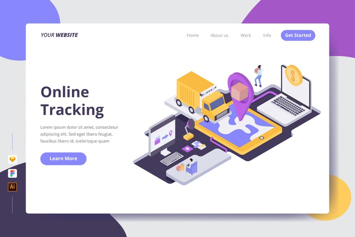 Thumbnail for Online Tracking - Landing Page