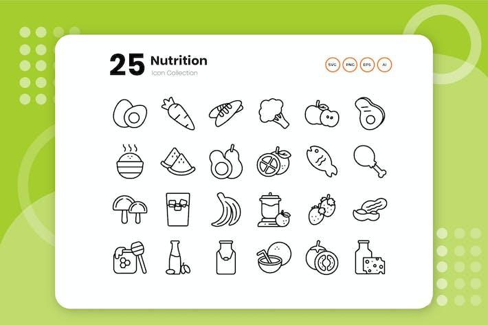 25 Значок плана питания