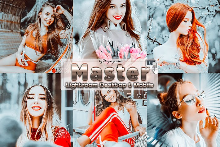 Thumbnail for Master Portrait Lightroom Presets