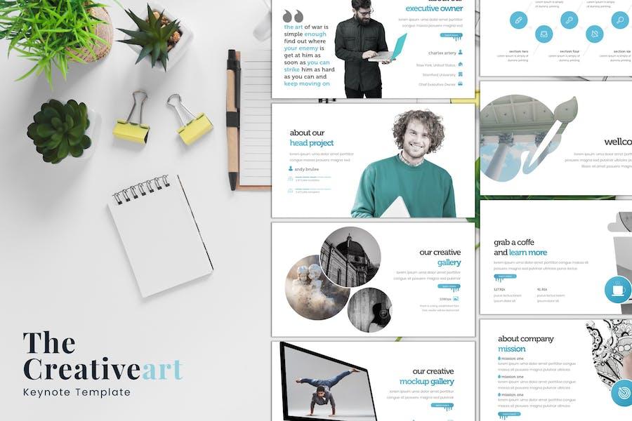 The Creativeart - Keynote Template
