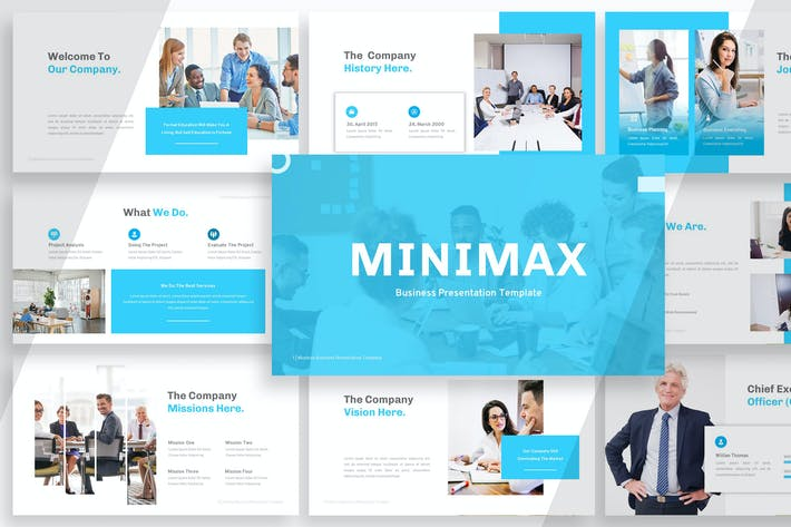 Thumbnail for Minimax - Business Powerpoint YR