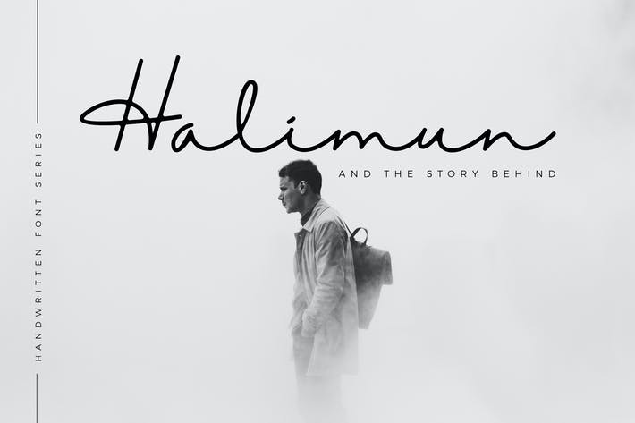 Thumbnail for Halimun Script Style
