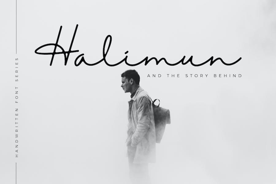 Halimun Script Business Font