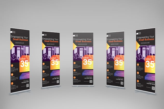 Startup Business - Roll-Up Banner