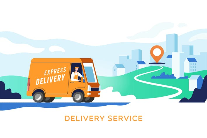Express Delivery Services und Logistik