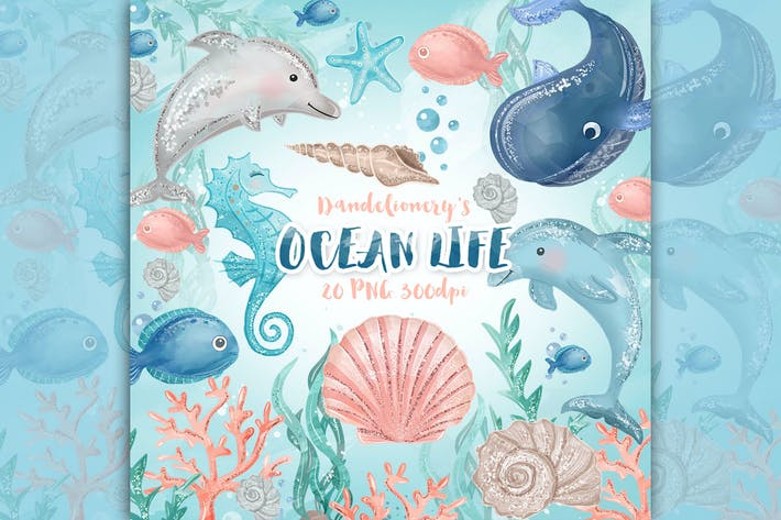 Cover Image For Ocean Life Design