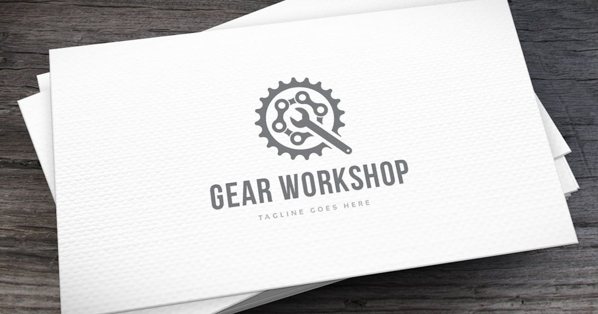 Download Gear Workshop Logo Template by empativo