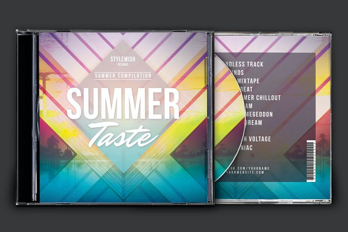 Thumbnail for Summer Taste - Carcasa para CD