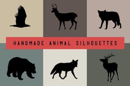 Handmade Animal Silhouettes