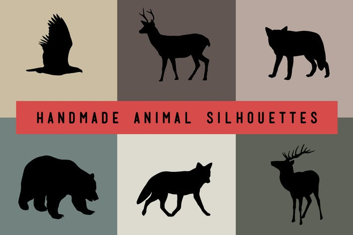 Thumbnail for Handmade Animal Silhouettes
