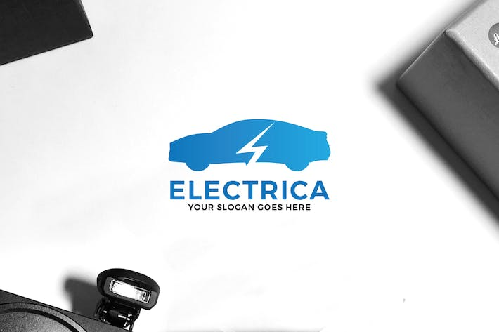 Thumbnail for Electric Car Logo