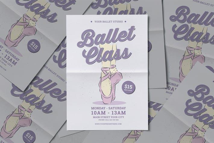 Thumbnail for Ballet Class Flyer