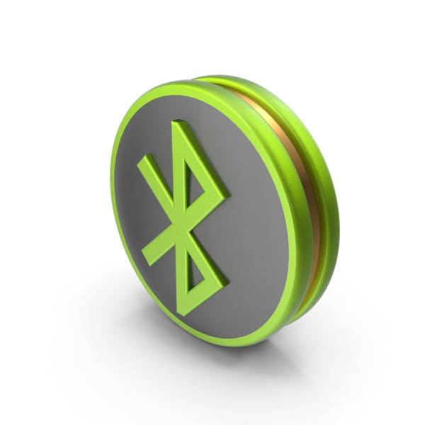 Green Bluetooth Icon