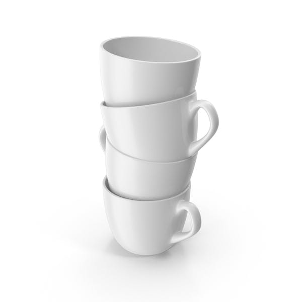 Cover Image for Small White Cup Stack