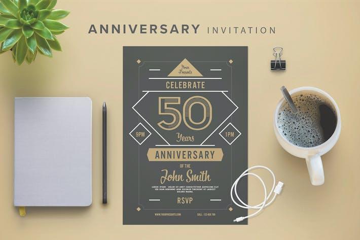 Thumbnail for Anniversary Invitation