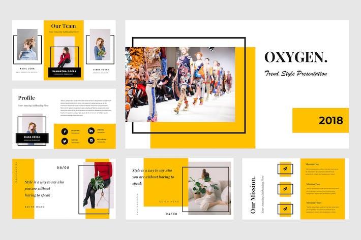 Thumbnail for Oxygen Google Slides Presentation