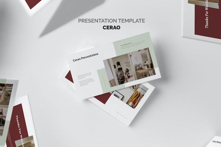 Thumbnail for Cerao : Home Decor Google Slides