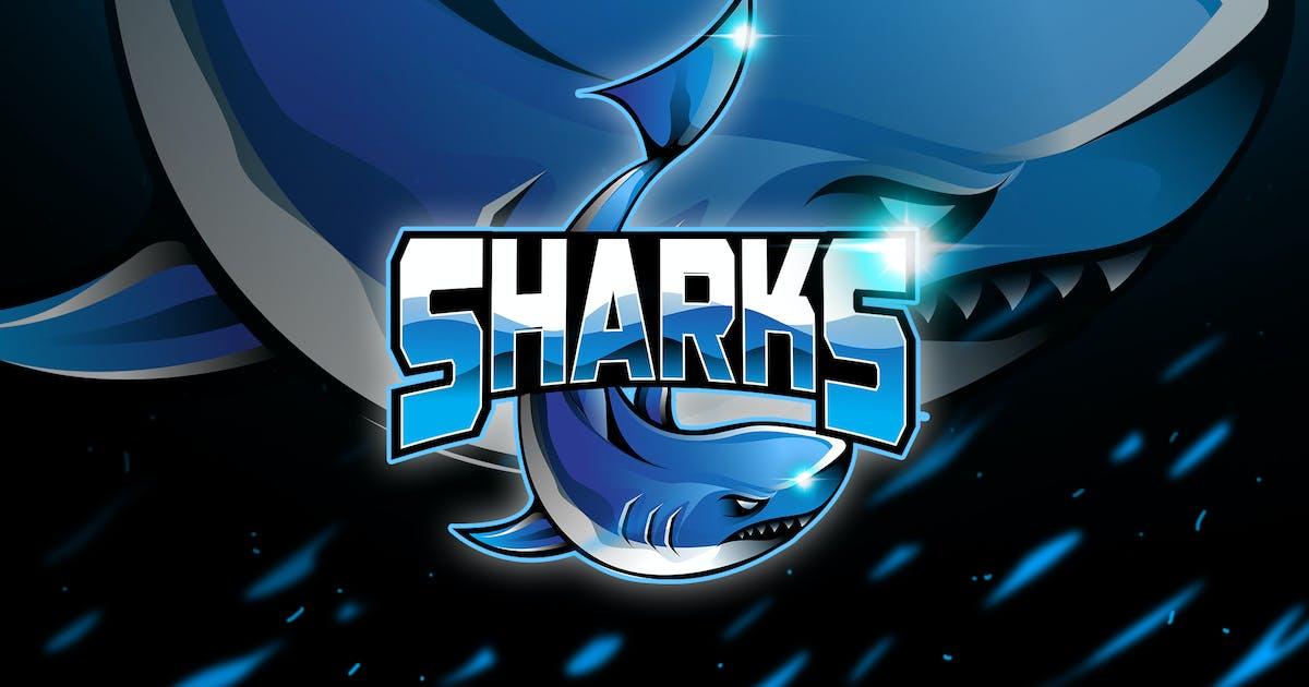 Shark - Mascot & Logo Esport by aqrstudio