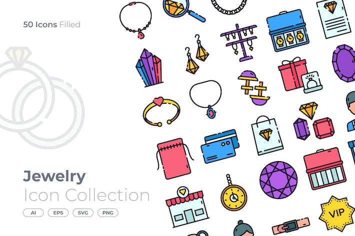 Jewelry Filled Icon