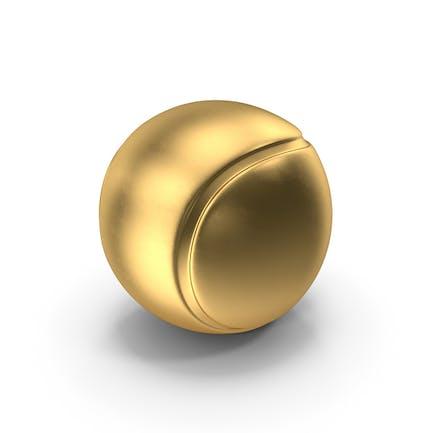 Теннисный мяч Золото