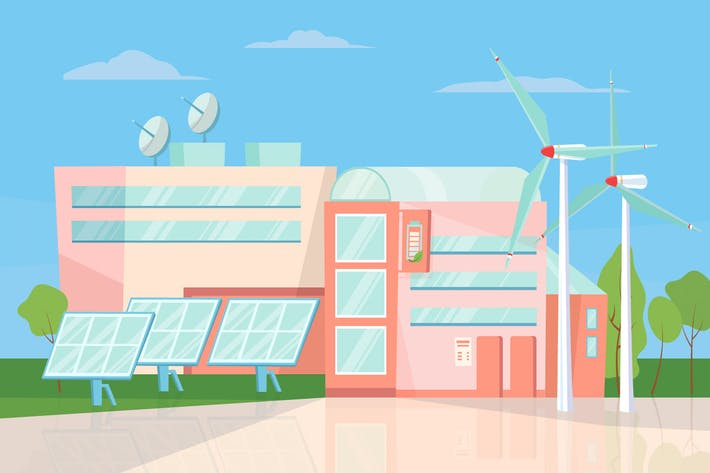 Thumbnail for Eco Energy - Illustration Background