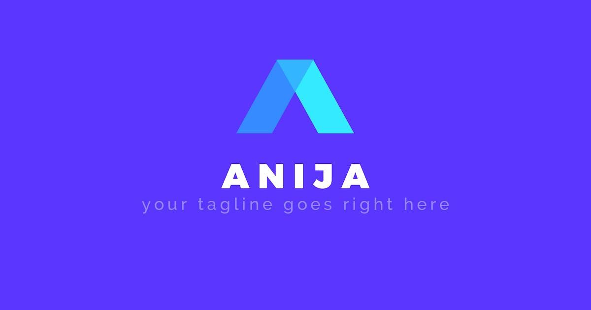 Download Anija - A Letter Premium Logo Template by ThemeWisdom