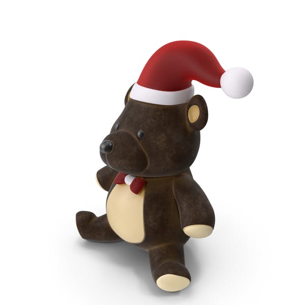 Christmas Teddy Bear Brown