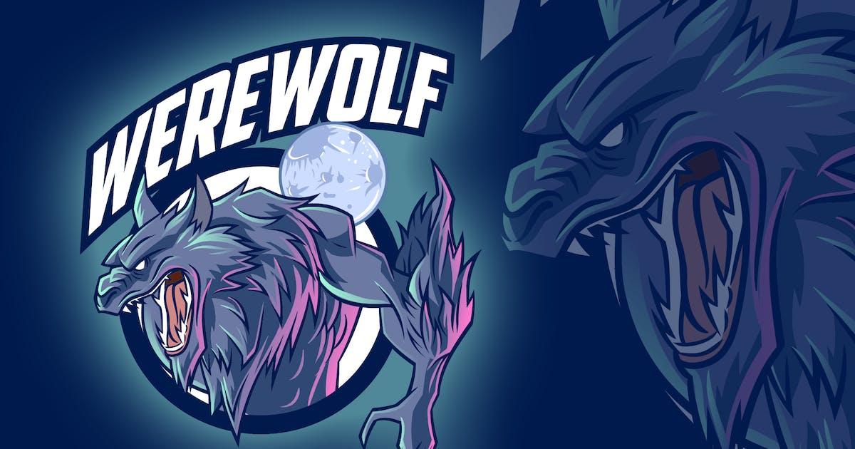 Download Werewolf Esports & Sports Mascot Logo by Suhandi
