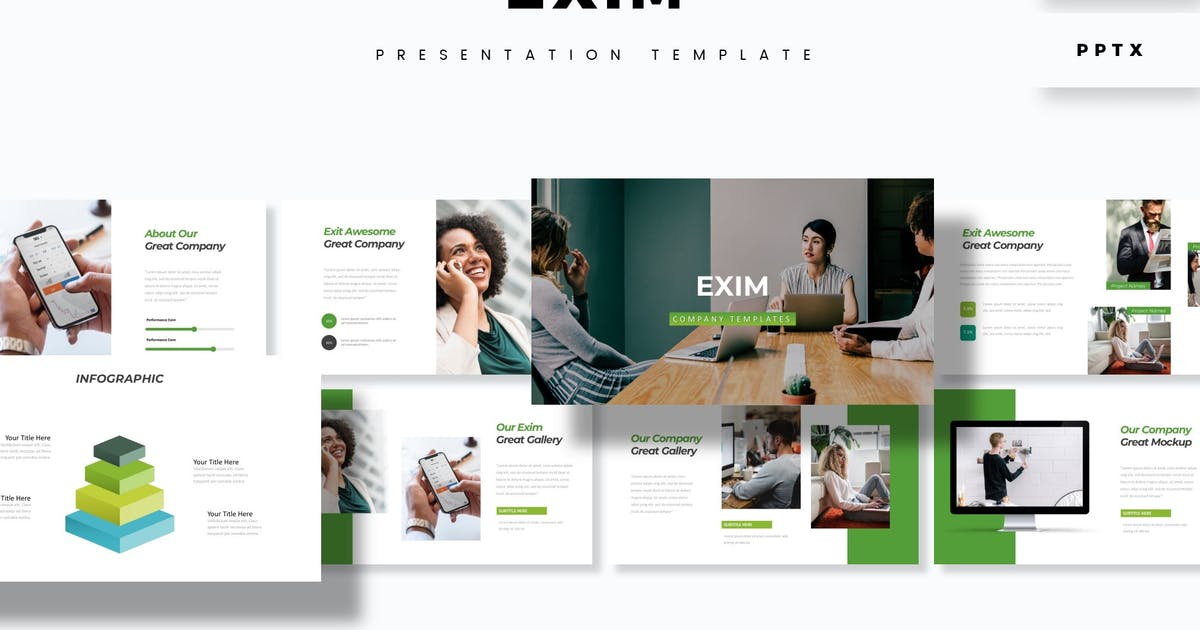 Download Exim - Presentation Template by aqrstudio