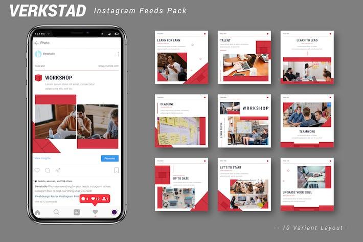 Thumbnail for Verkstad - Instagram Feeds Pack