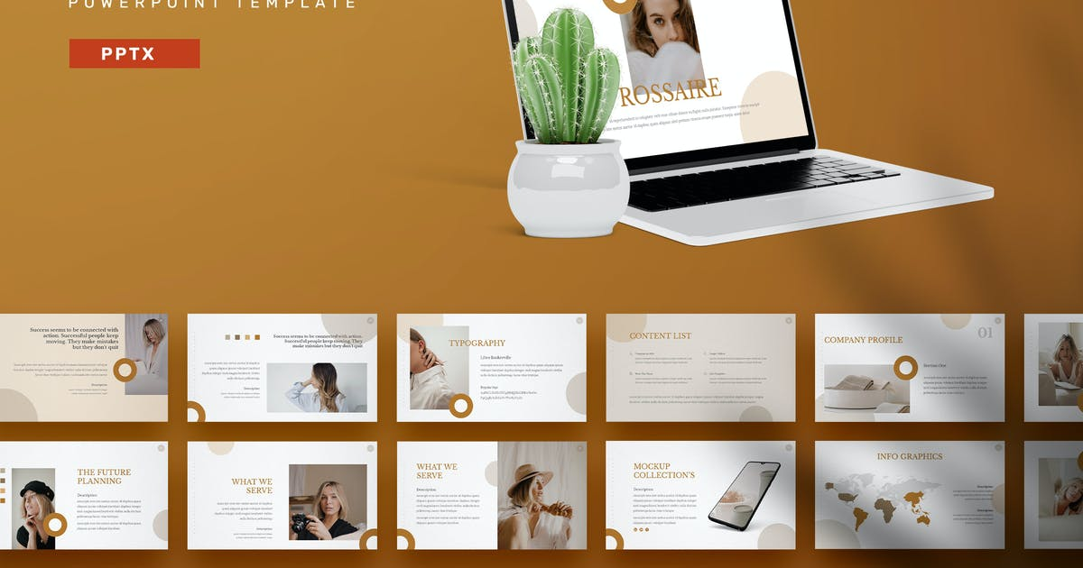 Download Rossaire - Powerpoint Templates by Streakside