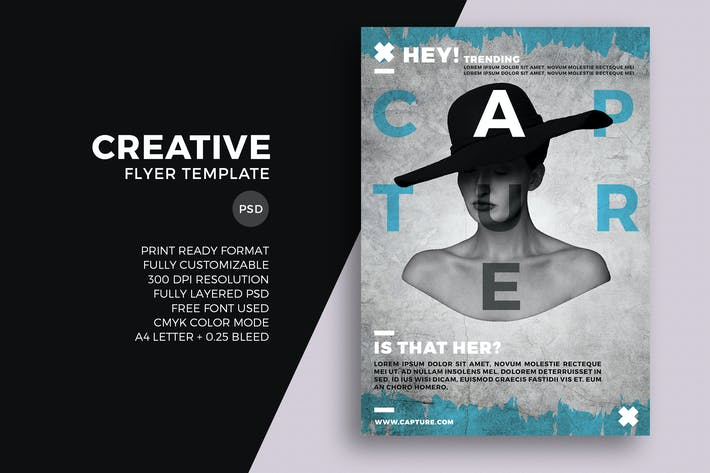 Cover Image For Creative Flyer Template