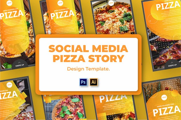 Pizza Social Media Template - product preview 0