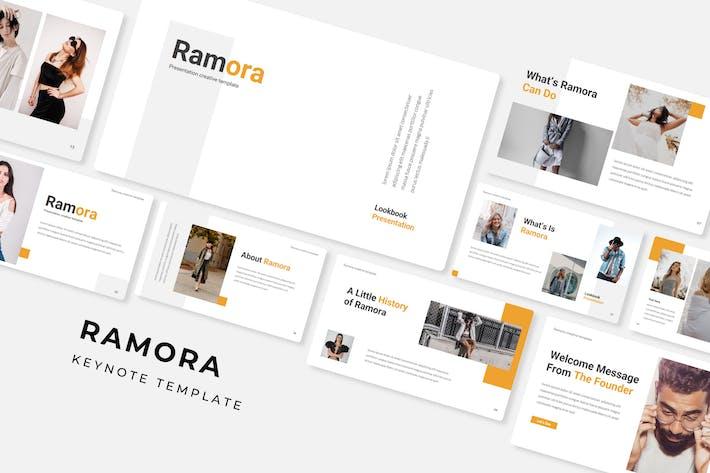 Thumbnail for Ramora - Keynote Template