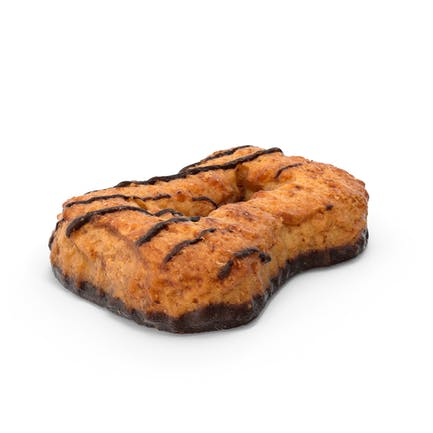 Cookie mit Schokolade