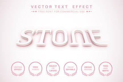 3D текст - редактируемый текстовый эффект, стиль шрифта