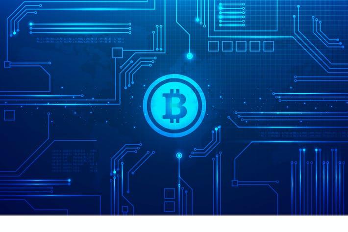 Thumbnail for Bitcoin Technology Vektor Illustration 17