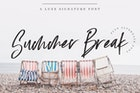 Summer Break Font