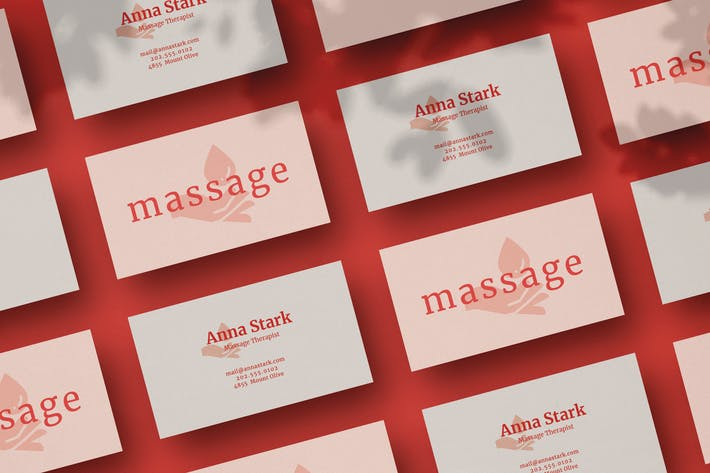 Thumbnail for Massage Business Card