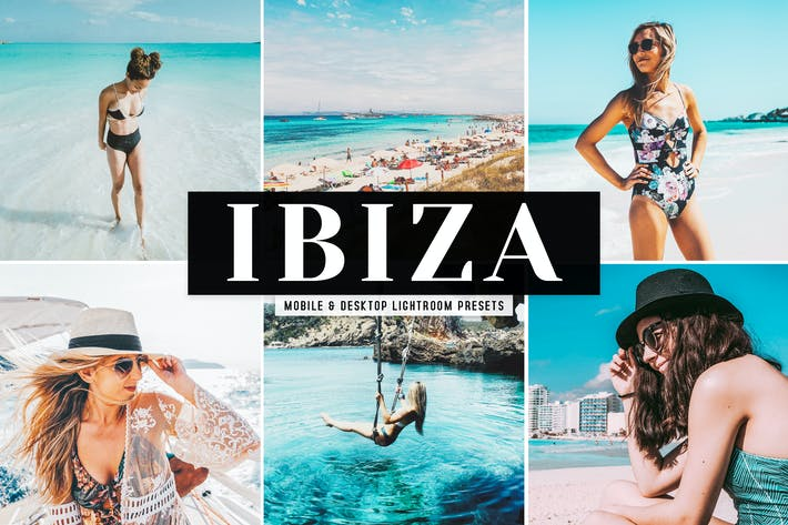 Thumbnail for Ibiza Mobile & Desktop Lightroom Presets