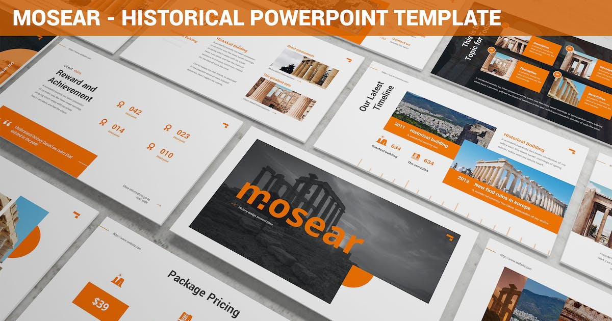 Download Monsear - Historical Powerpoint Template by SlideFactory