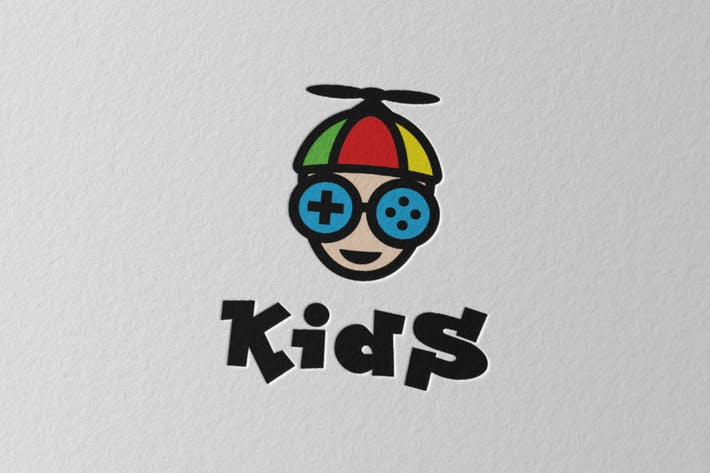 Cover Image For Kids Logo