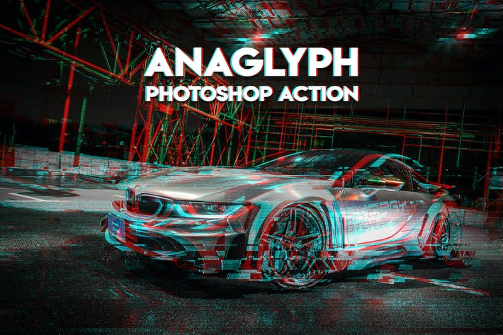 Thumbnail for Anaglyph Photoshop Action