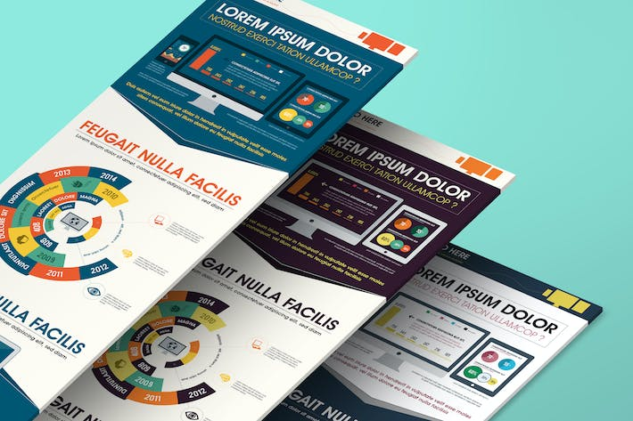 Thumbnail for Technology Infographics Template