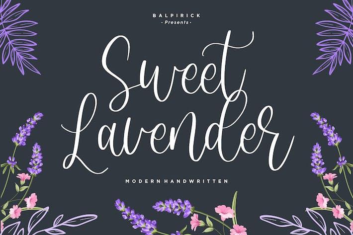 Thumbnail for Sweet Lavender Caligrafía Fuente YH